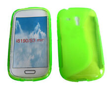 Shockproof Gel Case Protector Cover For Samsung Galaxy S3 Mini GT i8190 Green