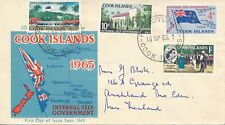Cook Islands - FDC with address - Internal self government (1965)