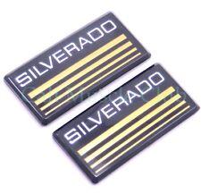 Chevy Suburban Cab emblem NEW 2pc Silverado badge roof pillar 88 89 90 91 C/K