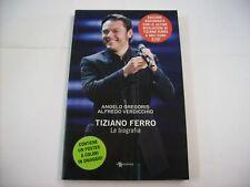 TIZIANO FERRO - LA BIOGRAFIA - LIBRO CON POSTER NUOVO 2010