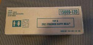 Pokemon 25th Anniversary McDonalds Promo SEALED CASE- 150 Ct PACKS (Toy 3)