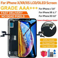 OLED For iPhone X XR XS 7 LCD Display 3D Touch Screen Assembly Replacement+Tools