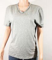 Banana Republic Women's Gray Short Sleeve V-Neck Tee T-Shirt Size Medium