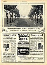 G. Rüdenberg Hannover Photograph. Apparate Tekko Tapete Werde Schiffsjunge..1904