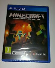 Minecraft PS Vita Nuevo Sellado PAL Reino Unido mente Craft Sony PlayStation PSV consultorías