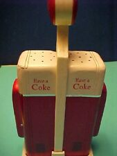 Salt & Pepper Shakers Vintage Coca-Cola Collectible  Vending Machine