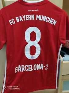 MENS BAYERN FUNNY PRINT SOCCER JERSEY 20 21 +SIZE TABLE