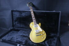 Les Paul Relic Gold Top Electric Guitar One Piece wood Body Neck Nitrolacquer