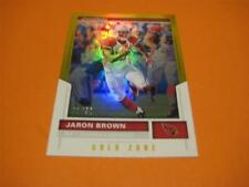 2017 Panini Score Gold Zone Parallel #76 Jaron Brown Cardinals 01/50