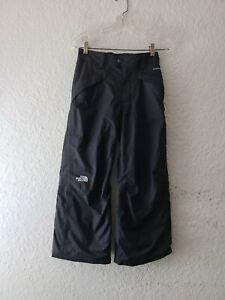 The North Face Hyvent Boys Medium 10/12 Black Ski Snowboard Pants