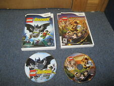 Nintendo Wii Game Lego Batman Lego Indiana Jones 2