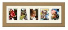 Personalised photo frame 3 Letters to 7 Letters Name Frame Word Photo Frame