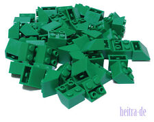 LEGO - 50 x Dachstein inversa 2x2/45 gradi Verde/3660 merce nuova (l12)