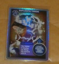 DOCTOR WHO TCG - MONSTER INVASION - EXPLODING TARDIS - (HOLO) ULTRA RARE CARD