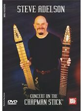 Steve Adelson Concert On The Chapman Stick Learn to Play MUSIC DVD Bass Guitar