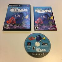 Finding Nemo Ps2 PlayStation 2 Complete Kids Game Disney Pixar 1 Dory!