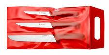GIESSER Messer Set 3 Teile Stechmesser Ausbeinmesser Schlachtmesser 3565 rot