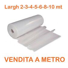 Teli serre cellophane polietilene neutra trasparente nylon plastica 0,20mm 190gr