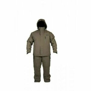 AVID CARP ARCTIC 50 SUIT CARP FISHING 2 PIECE WINTER SUIT JACKET + SALOPETTES