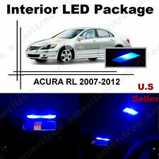 Blue LED Lights Interior Package Kit for Acura RL 2007 - 2012 ( 11 Piece )