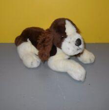 """14"""" Douglas Plush Springer Spaniel Puppy Dog Brown White Stuffed Animal  - Korea"""