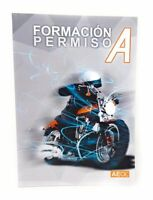 Manual Formación Permiso A Moto Grande AEOL Libro Autoescuela Carnet de Conducir