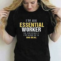 I'm An Essential Worker So Basically I'm Kind of Big Deal Vintage Men's T Shirt