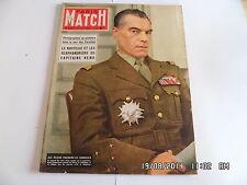 PARIS MATCH N°272 12 JUIN 1954 GENERAL ELY DEBARQUEMENT 6 JUIN 1944 NAUTILUS  G7