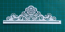 10 border doily paper die cuts card toppers Marianne Design victorian romance