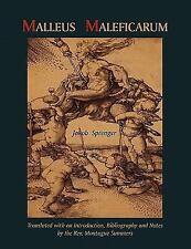 Malleus Maleficarum- Montague Summers Translation by Jakob Sprenger (2011,...