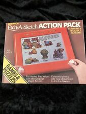 Ultra Rare Etch A Sketch Action Pack 1981