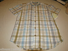 Men's Rusty button up shirt casual r24104306 Catcher short sleeve S small NWT