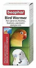 Beaphar Bird Wormer budgie finch canaries parrot etc