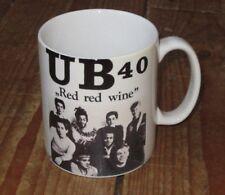 UB40 Red Red Wine Advertising MUG