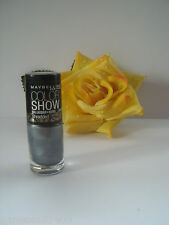 Vernis à ongles Gemey-Maybelline Color-show, Couleur N°50 Silver stunner.