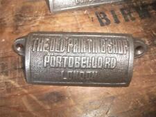 10 x Ghisa Cassetto Maniglie COPPA TIRA vecchio negozio di stampa Portobello RD