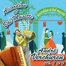 CD Accordéon et bal musette : André Verchuren Vol 1 & 2