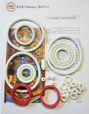 1977 Zaccaria Supersonic Pinball Machine Rubber Ring Kit