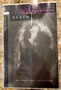 Death: The High Cost of Living 3 (Print Error, Very Rare HTF) Sandman