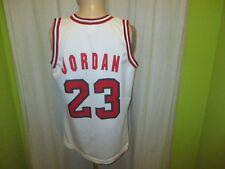 Chicago Bulls Champion Authentic NBA Trikot + Nr.23 Jordan + Signiert Gr.M TOP