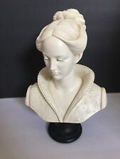 "A. Giannelli Statue ""Bust of a woman"" Recomposed Stone: Marble Alabaster"