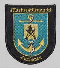 écusson patch marinestützpunkt Cuxhaven a4325