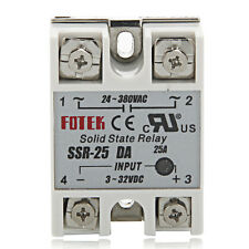 Solid State Relay SSR-25DA 25A /250V 3-32VDC for PID Temperature Controller TE