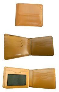 Exclusive SAMSONITE BLACK LABEL BAYAMO Bifold Leather WALLET 9cc Pass Tan