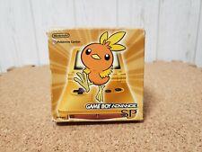 Gameboy Advance SP Achamo Pokemon Center Console Japan *SCREEN MINT*