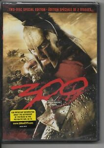 300 (DVD, Canadian Special Edition) - BRAND NEW