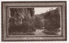 Millers Dale, Buxton RP Postcard, B363