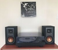 Now Spinning Vinyl Record Wall Mount Display Shelf - 3D Printed