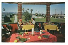 Vintage Postcard Tucson Biltmore Az Arizona View from Dining Room