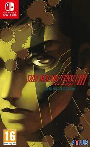 Shin Megami Tensei III: Nocturne - HD Remaster   Nintendo Switch New - Preorder